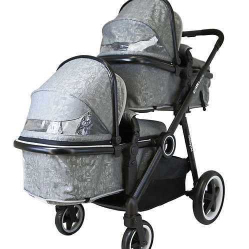 iSafe Me&You Tandem in Silver Mist