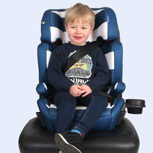 My Babiie Blue Stripes Group 2/3 Car Seat