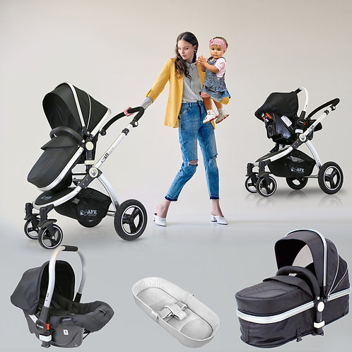 iSafe 3-in-1 Travel System - Various Colours
