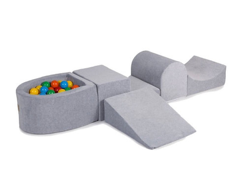 'Primary Grey' Soft Play Set