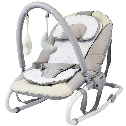 Silver Stars Baby Bouncer