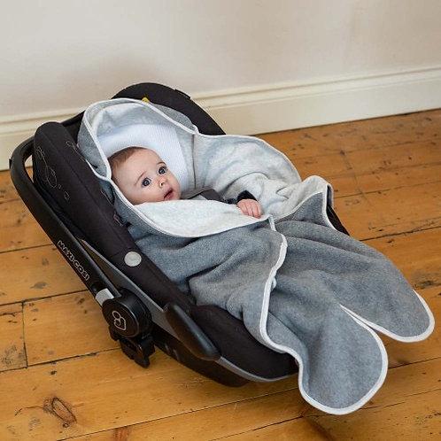 Purflo Cosy Wrap Travel Blanket - Grey