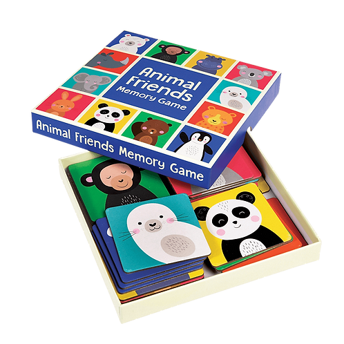 Rex London Colourful Animals Memory Game