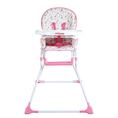 My Babiie Unicorn Compact Highchair