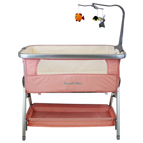 NextToMe Bedside Crib - Cookie