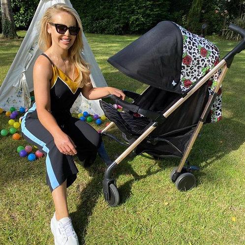 Katie Piper Rose Leopard Lightweight Stroller