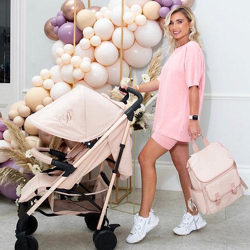 Billie Faiers Rose Gold Blush Lightweight Stroller