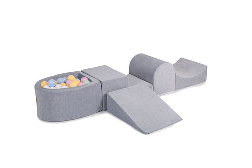 Pick Your Own Colours Grey Soft Play Set