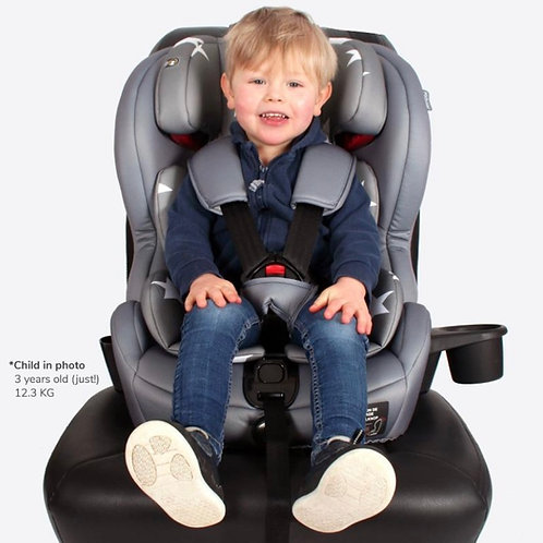 My Babiie Group 1/2/3 Grey Stars Car Seat