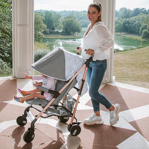 Samantha Faiers Grey Marble Lightweight Stroller