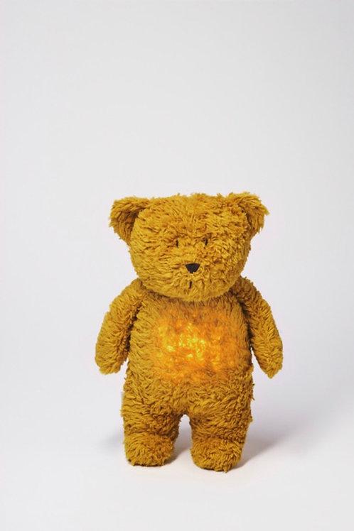 Moonie Organic Humming Bear - Mustard
