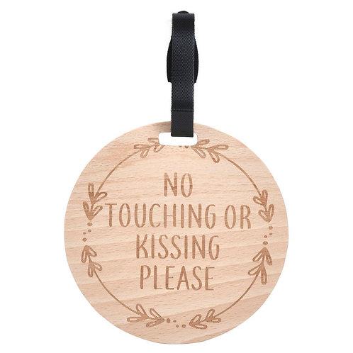 Wooden Leaf Design Pram/Car Seat Sign
