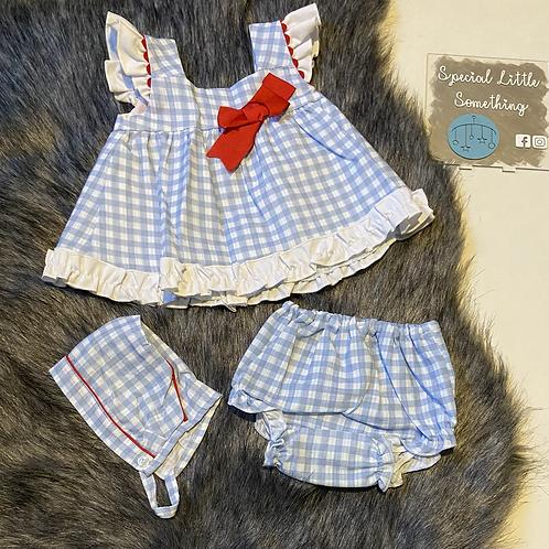 Baby Ferr 'Dorothy' Spanish Dress, Knickers & Bonnet