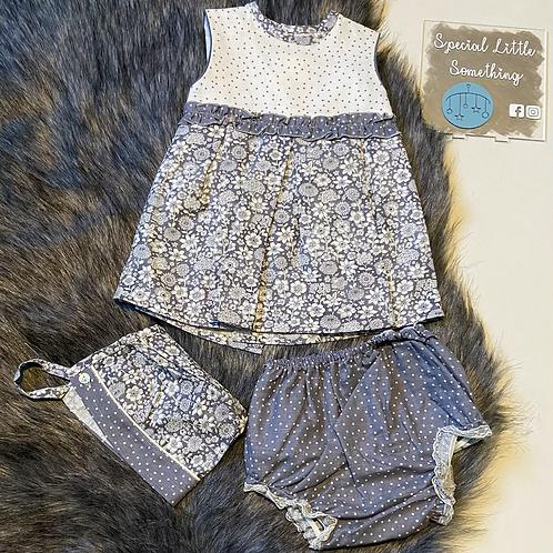 Baby Ferr 'Fiora' Spanish Dress, Knickers & Bonnet