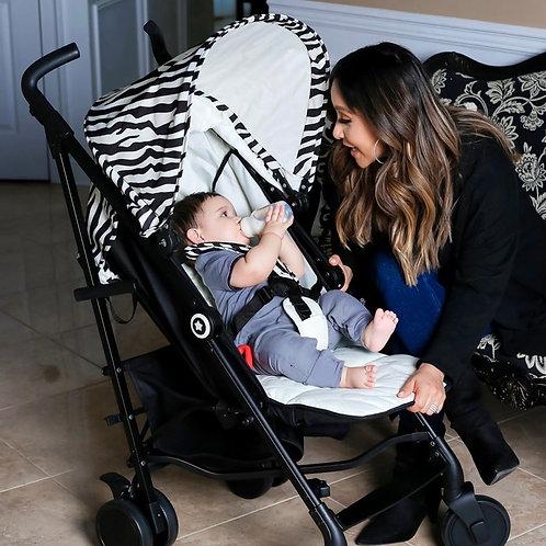 Nicole 'Snooki' Polizzi Zebra Lightweight Stroller