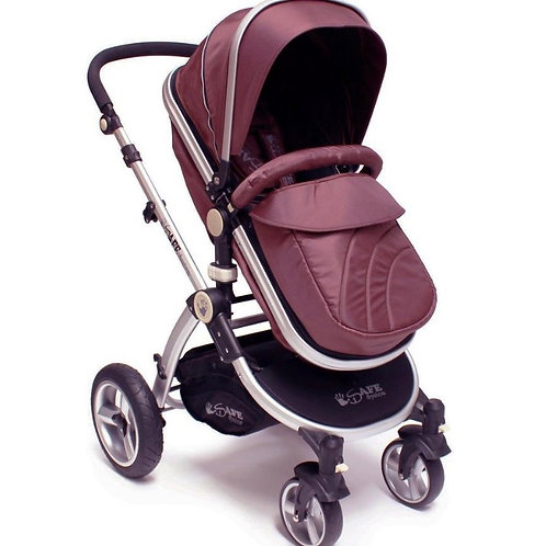 iSafe 2-in1 Pram - Various Colours