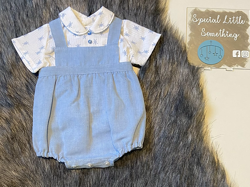 Baby Ferr 'Terry' Turtle Romper Outfit
