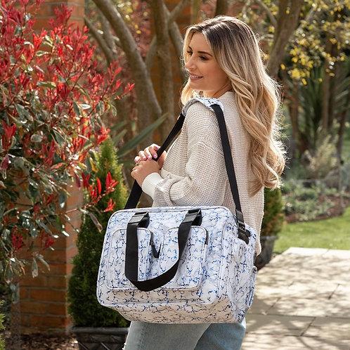 Dani Dyer Blue Marble Changing Bag