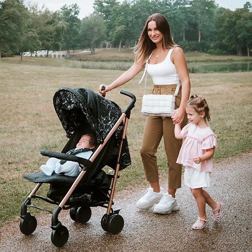 Samantha Faiers Black Marble Lightweight Stroller