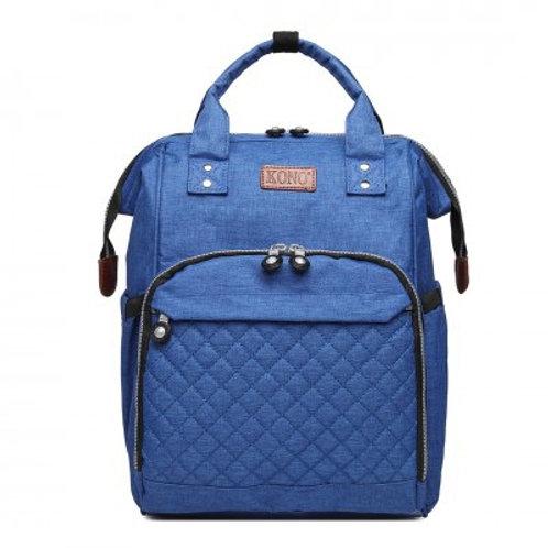 Blue Backpack Changing Bag