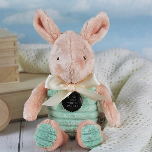 Classic Winnie The Pooh Personalised Soft Toy - Piglet