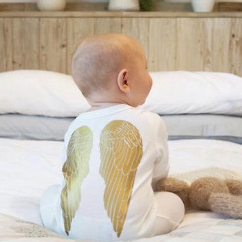 Sparks & Daughter Angel Wings Sleepsuit