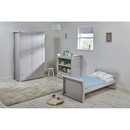 East Coast 'Nebraska' Collection - Grey Toddler Bed
