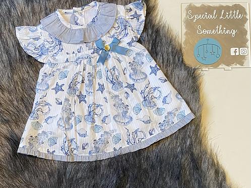 Baby Ferr 'Ariel' Spanish Dress, Knickers & Bonnet