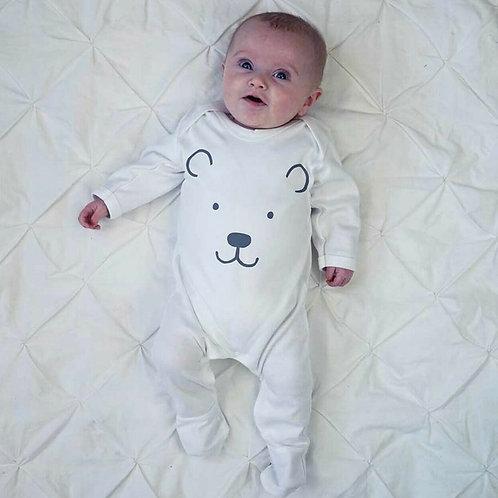 Polar Bear Design Sleepsuit