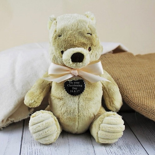 Classic Winnie The Pooh Personalised Soft Toy - Pooh