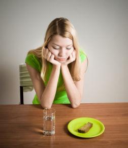 Essunlust, Gewichtsabnahme. kein Hunger, Appetitlosigkeit