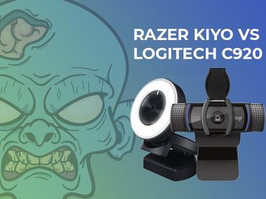 RAZER KIYO vs LOGITECH C920 - Which Gaming Cam is Best?