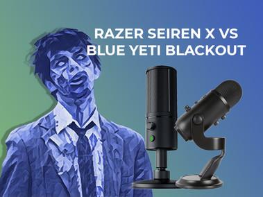 Razer Seiren X vs Blue Yeti Blackout - Which has better sound quality?