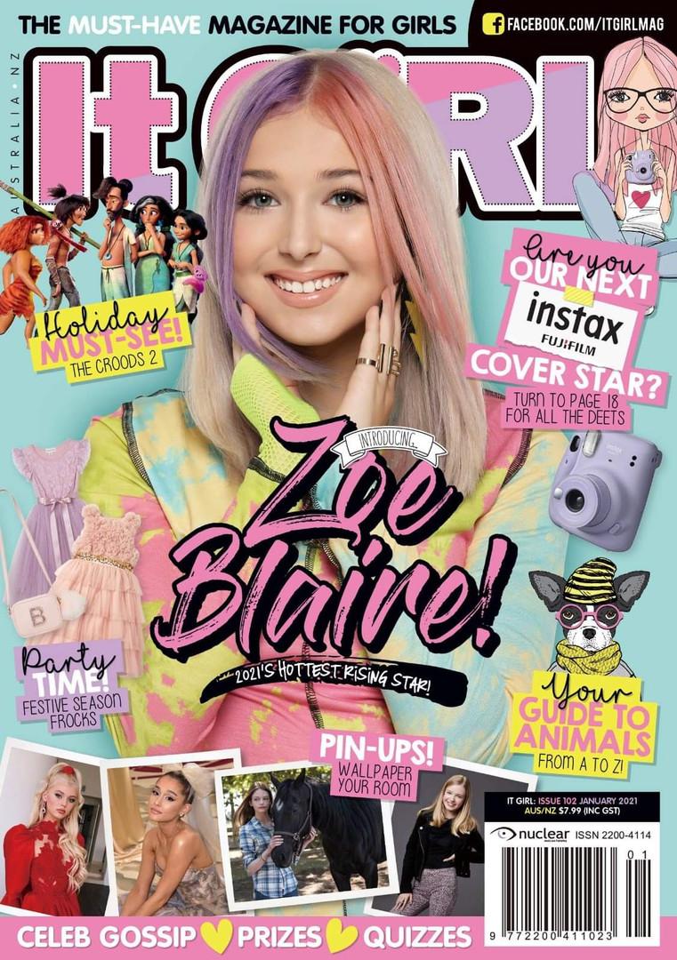 IT Girl Cover Model 2021