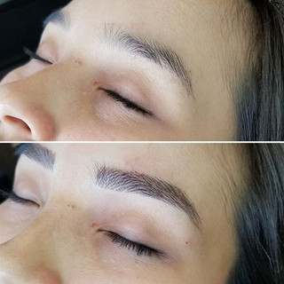 👀 at this enhancement 🔝💯🔥 #bestbrows