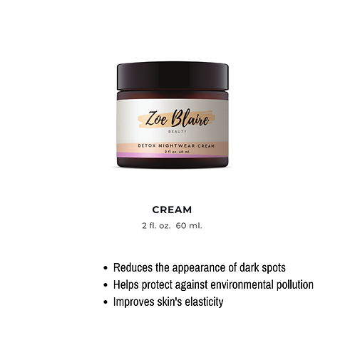 Dream Big. Detox Cream