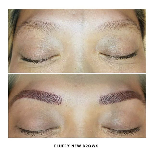 Gorgeous. Fluffy. Brows.