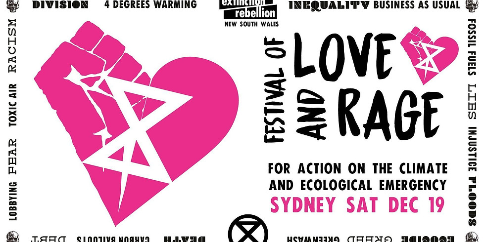 Canberra Contingent get together: Sydney Festival of Love and Rage for Climate