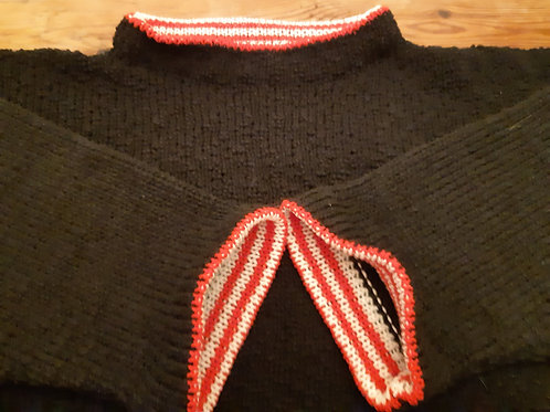 Witty Knitty, happy cotton sweater