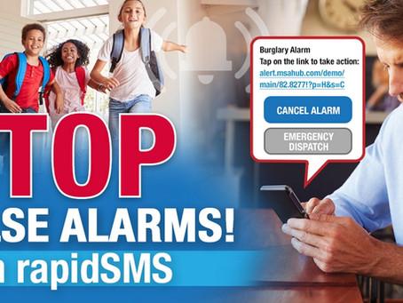 Stop False Burglary Alarms