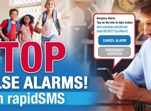 Stop False Burglary Alarms