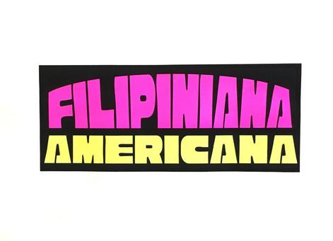 FILIPINIANA AMERICANA, 2020