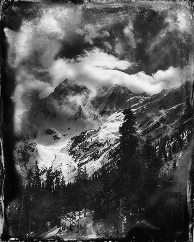 MT. BAKER FAUX WET PLATE, 2016