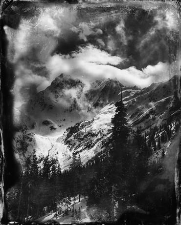MT. BAKER FAUX WET PLATE, 2016
