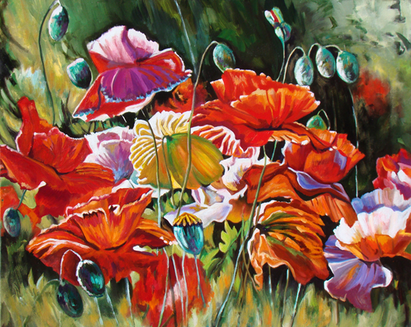 wSlater-Summer-Dazzlers-OIl-24x30