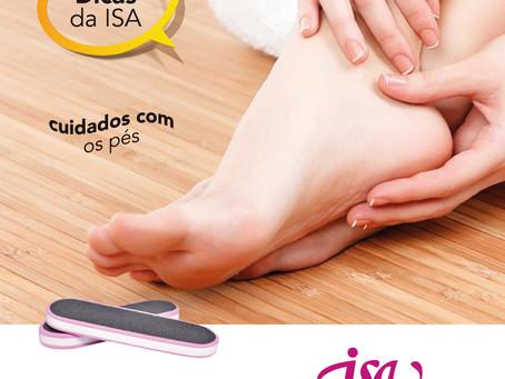 DICAS DA ISA | Cuidados com os pés