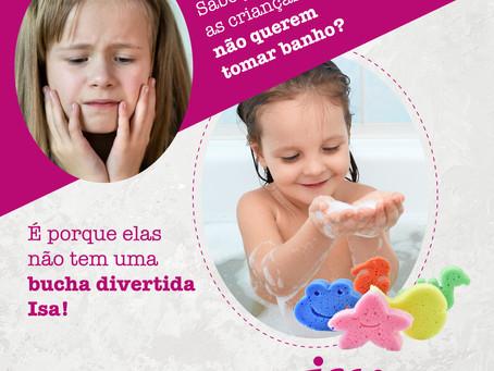 Sabe por que as crianças não querem tomar banho?