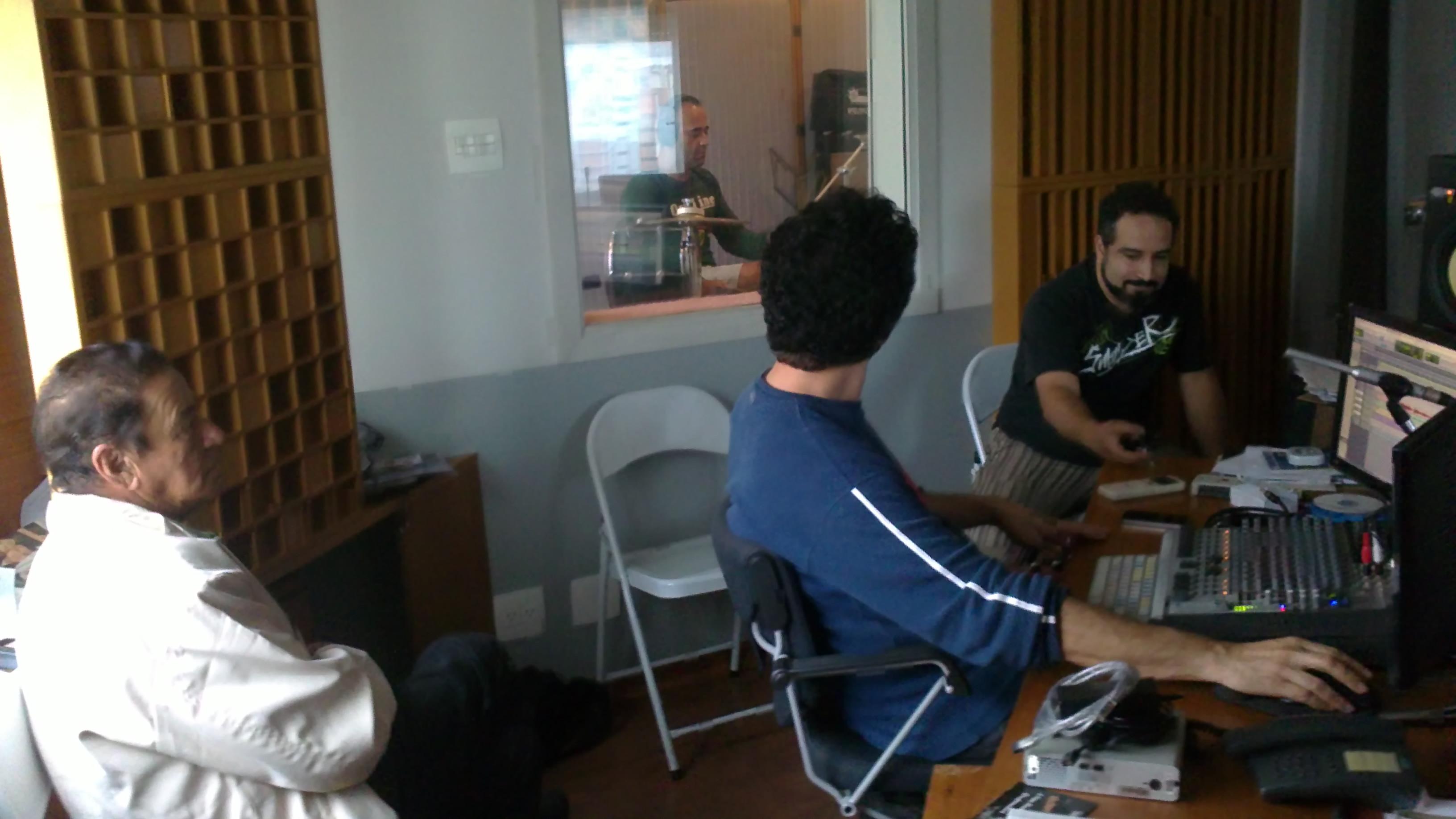 Gravação do CD