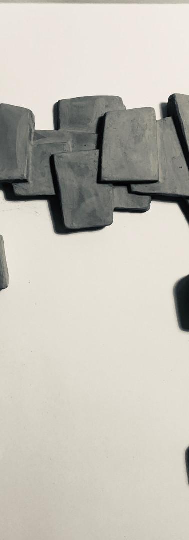 Maquette en terre