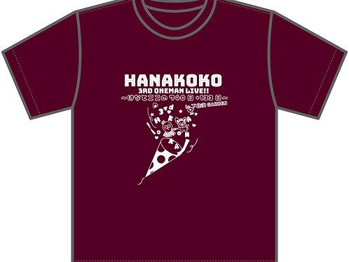 サイズ:M / はなここ3rdワンマン開催記念Tシャツ